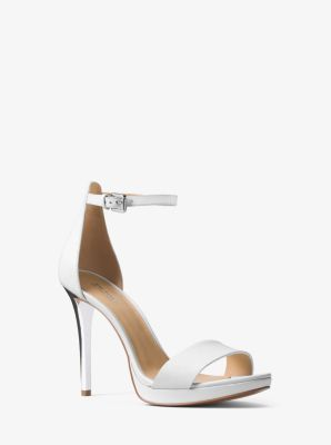 Hutton Leather Sandal by Michael Kors