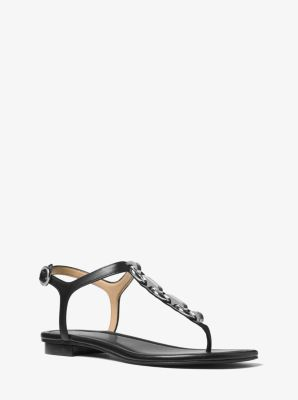 Mahari Leather Thong by Michael Kors