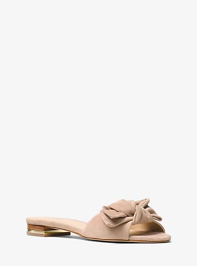 Willa Suede Slide by Michael Kors