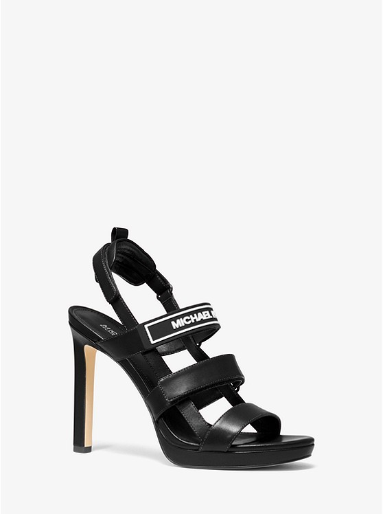 Demi Leather Sandal | Michael Kors