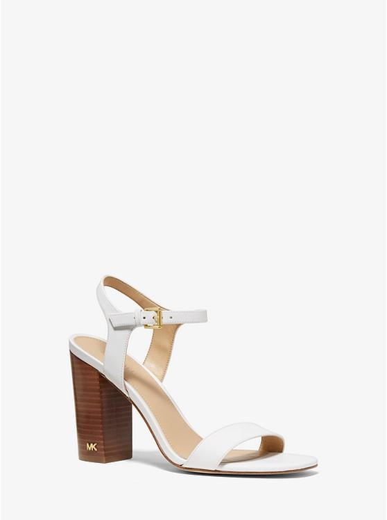 Francine Leather Sandal | Michael Kors