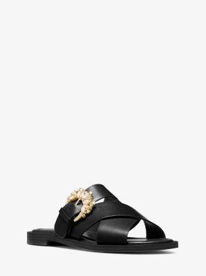 마이클 마이클 코어스 Michael Michael Kors Frieda Leather Sandal