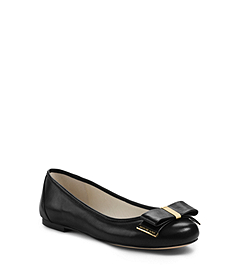 Kiera Leather Ballet Flat