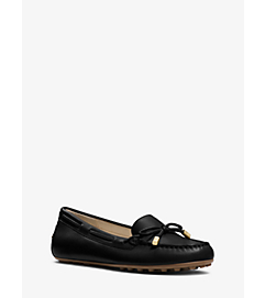 Daisy Leather Moccasin by Michael Kors