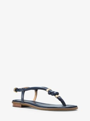 Holly Leather Sandal by Michael Kors