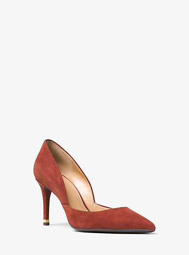 Ashby Suede Pump by Michael Kors