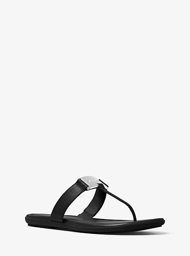 Colleen Leather Thong by Michael Kors
