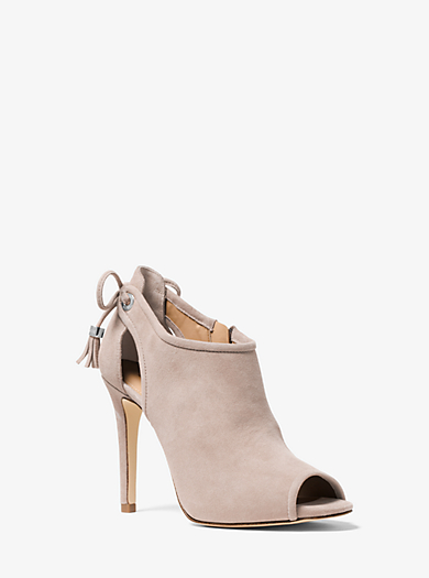 Jennings Suede Ankle Boot by Michael Kors
