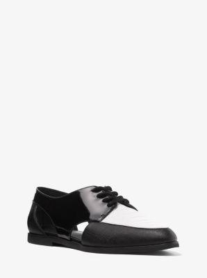 Jensen Patent-Leather Oxford  by Michael Kors