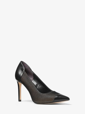 Leilah Mesh and Leather Pump  by Michael Kors
