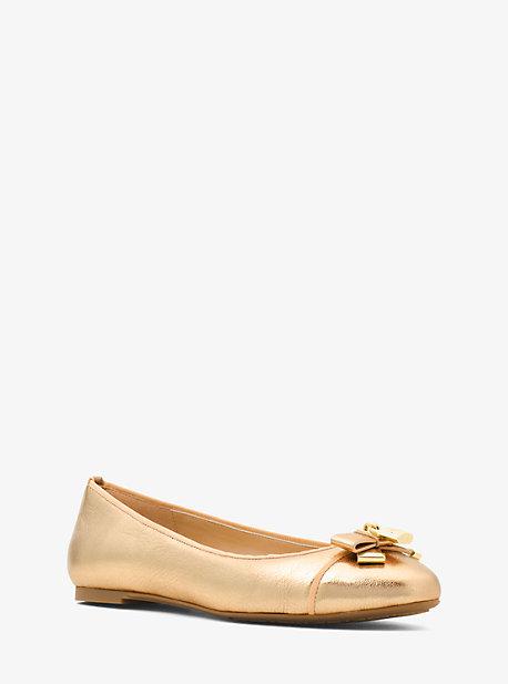 a8340180317bc Alice Metallic Leather Ballet Flat