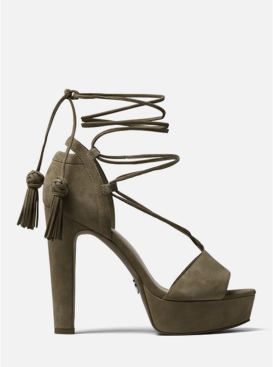 55f9159f5173 Rosalie Suede Lace-up Platform Sandal