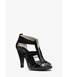 Berkeley T-Strap Leather Pump