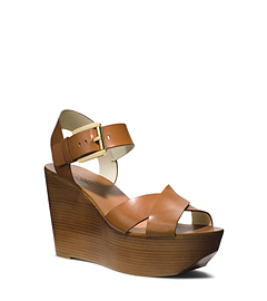 Peggy Leather Wedge