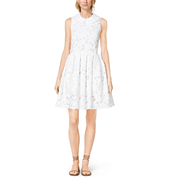 Floral Fil Coupé Dance Dress by Michael Kors