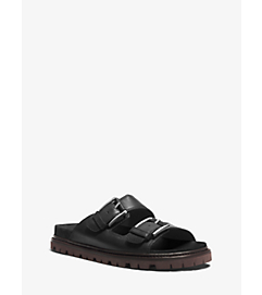 Graham Leather Sandal by Michael Kors