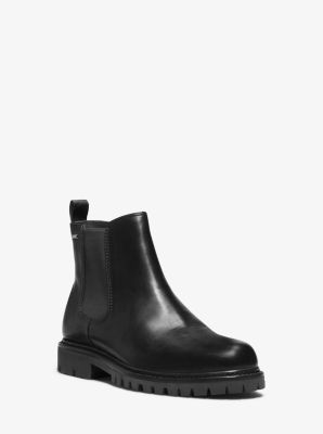 Hudson Leather Boot by Michael Kors