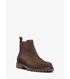 Hudson Suede Boot by Michael Kors