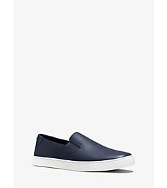 Evan Saffiano Leather Sneaker  by Michael Kors