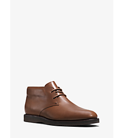 Logan Leather Boot  by Michael Kors