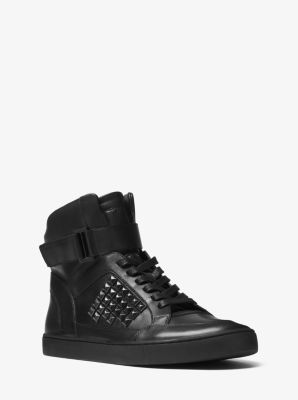 Anthony Studded Leather Sneaker         by Michael Kors