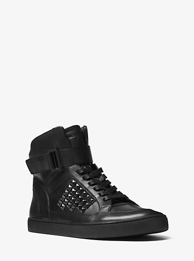 Sneaker Anthony aus Leder mit Nietenbesatz by Michael Kors