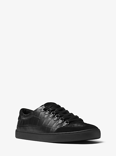 Sneaker Smith aus geprägtem Leder by Michael Kors
