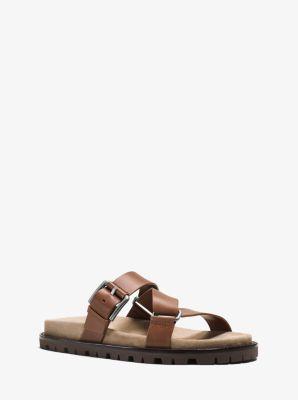 Richard Leather Sandal by Michael Kors
