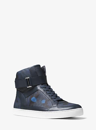 Knöchelhoher Sneaker Anthony mit Tarnmuster by Michael Kors