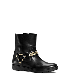 Essex Leather Biker Ankle Boot