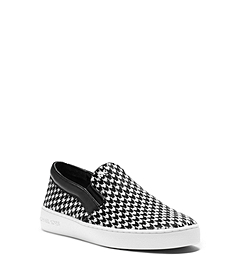 Keaton Houndstooth Slip-On Sneaker