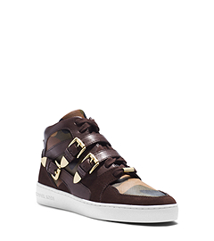 Robin Camouflage High-Top Sneaker
