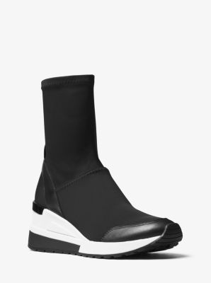 Ace High-Top Scuba Sneaker by Michael Kors