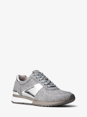 Allie Mixed-Media Sneaker by Michael Kors