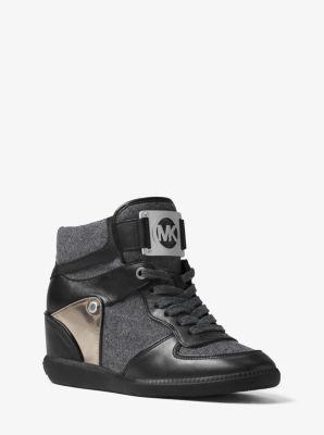 Nikko High-Top Flannel Sneaker by Michael Kors