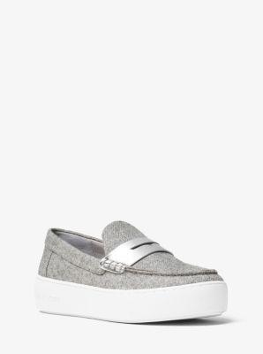 Poppy Flannel Slip-On Sneaker by Michael Kors