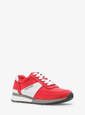 Allie Nylon and Leather Sneaker by Michael Kors