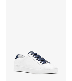 Irving Leather Sneaker  by Michael Kors