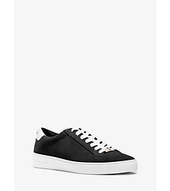 Irving Suede and Leather Sneaker by Michael Kors