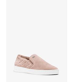 Keaton Suede Slip-On Sneaker  by Michael Kors