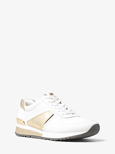 Allie Leather Trainer by Michael Kors