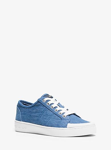 Harlen Denim Sneaker  by Michael Kors