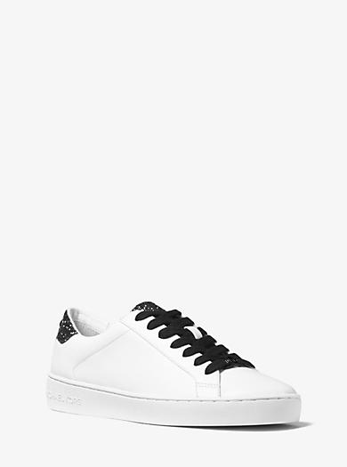 Sneaker Irving aus Leder mit Verzierung by Michael Kors