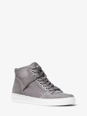 Matty High-Top Mesh Sneaker  by Michael Kors
