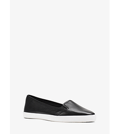 Olive Leather Sneaker  by Michael Kors