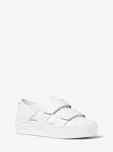 Beckett Leather Sneaker by Michael Kors