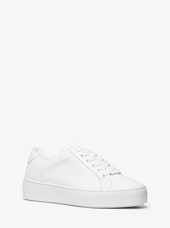 Poppy Leather Sneaker | Michael Kors
