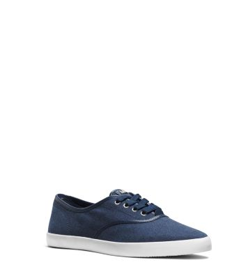 Brennan Canvas and Leather Sneaker