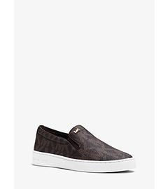 Keaton Logo Slip-On Sneaker by Michael Kors