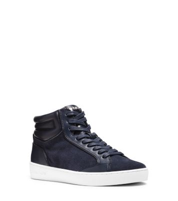 Paige Leather and Suede Sneaker